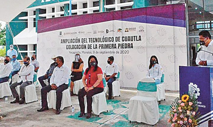 Alistan ampliación del Instituto Tecnológico de Cuautla
