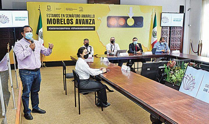 Sigue riesgo de contraer COVID-19, aún en verde: Salud Morelos
