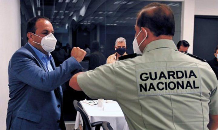 Se redoblará trabajo en seguridad en Morelos: Cuauhtémoc Blanco