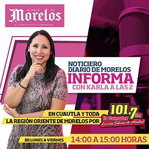DDM Informa La comadre 1017 fm Diario de Morelos
