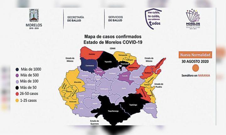 Comienza hoy Morelos, séptima semana en naranja
