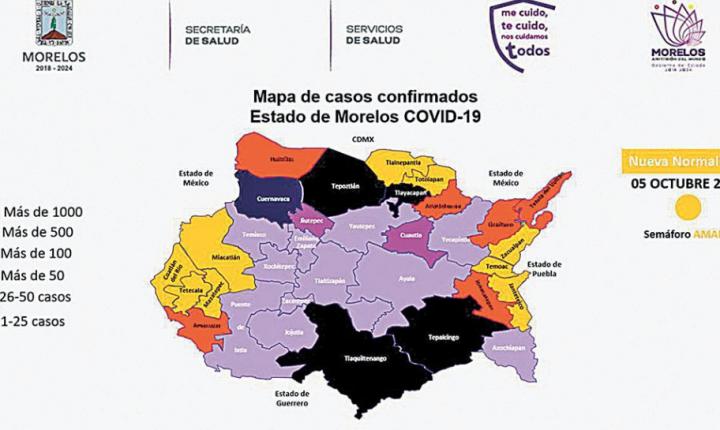 Trabaja Salud Morelos por avanzar a verde: Cantú