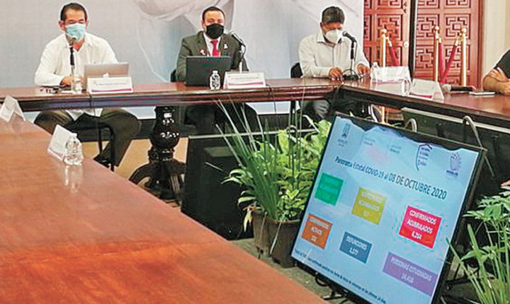 Simulador de la Secretaría de Salud no da puntos para avanzar a verde en Morelos