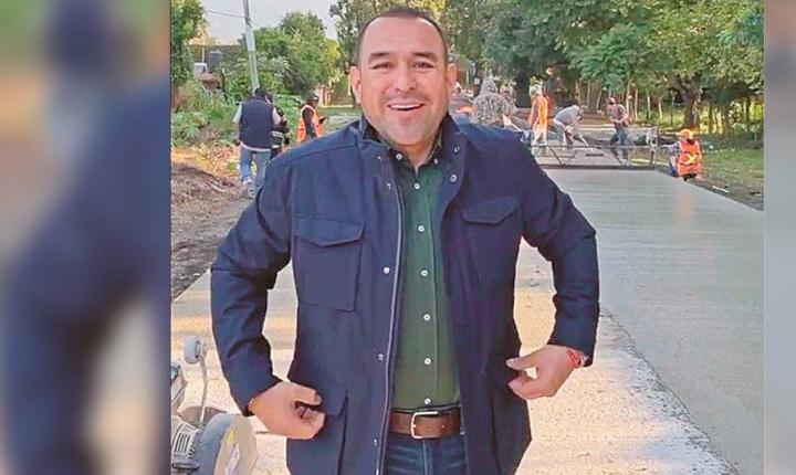 Supervisa Agustín Alonso avances en obra de la carretera Oacalco-Yautepec