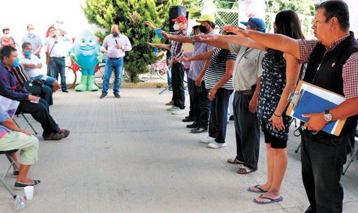 Conforma Ceagua comités vecinales en Cuautla