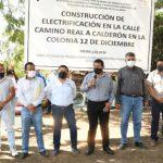 Encabeza alcalde de Cuautla arranque de cuatro obras importantes