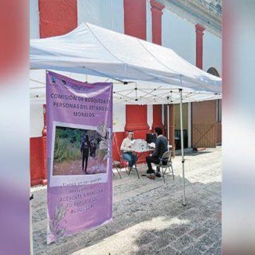 Impulsan atención para búsqueda de personas en Cuautla
