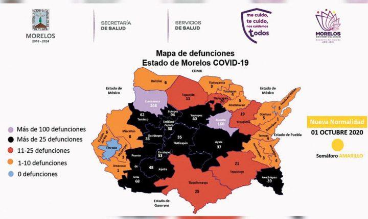 Designan a octubre como el mes del personal de salud en Morelos