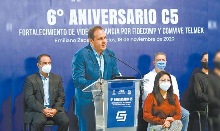 Instalarán 447 videocámaras en 10 municipios de Morelos