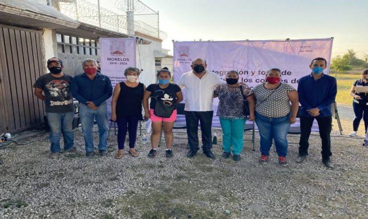 Instala la Ceagua a comités de Participación Ciudadana en Cuautla