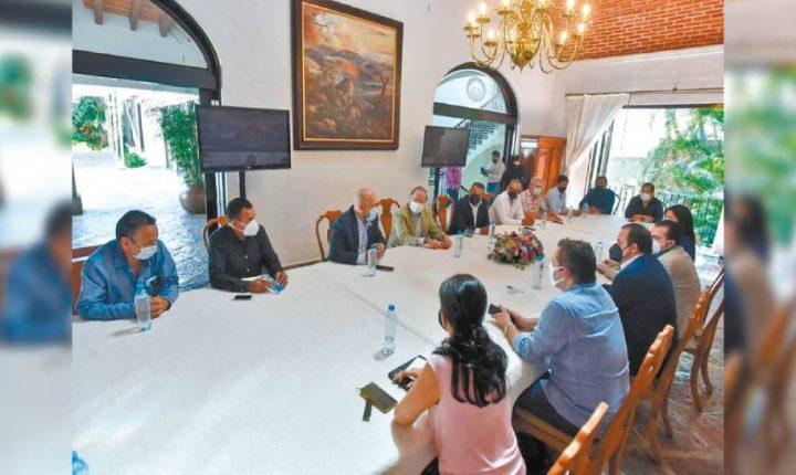 Acuerdan IP y Gobierno de Morelos esfuerzos para recuperación económica
